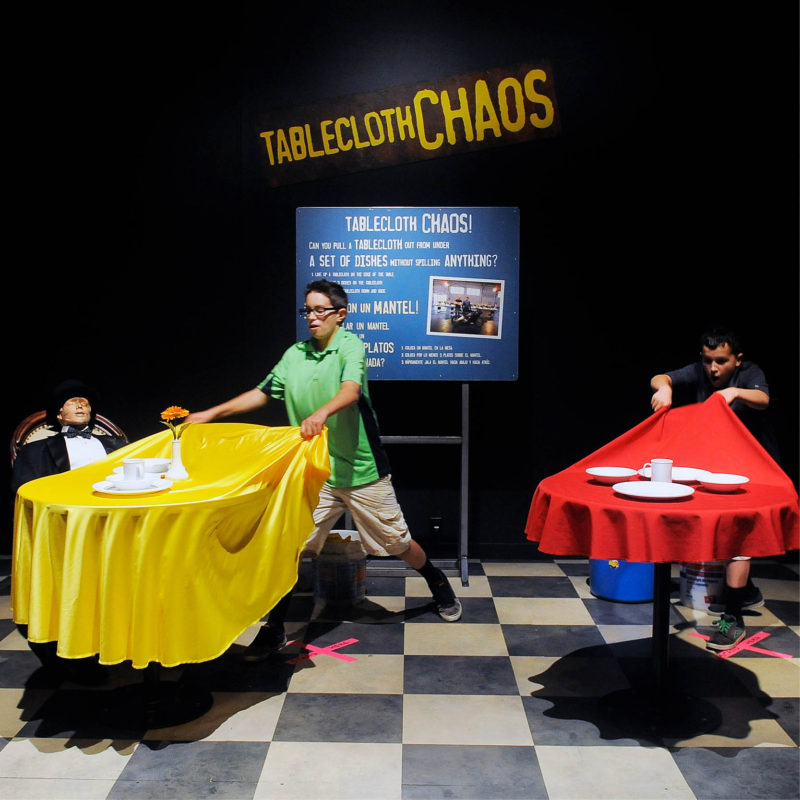 Mythbusters Traveling Exhibition