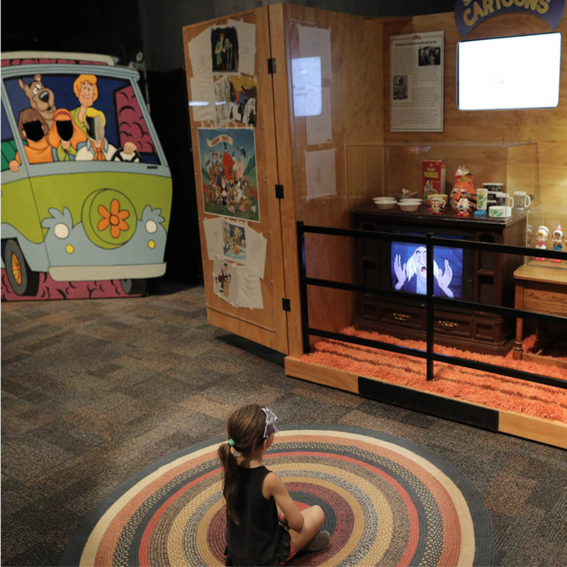animation academy traveling exhibition history pop culture cultural museum exhibit