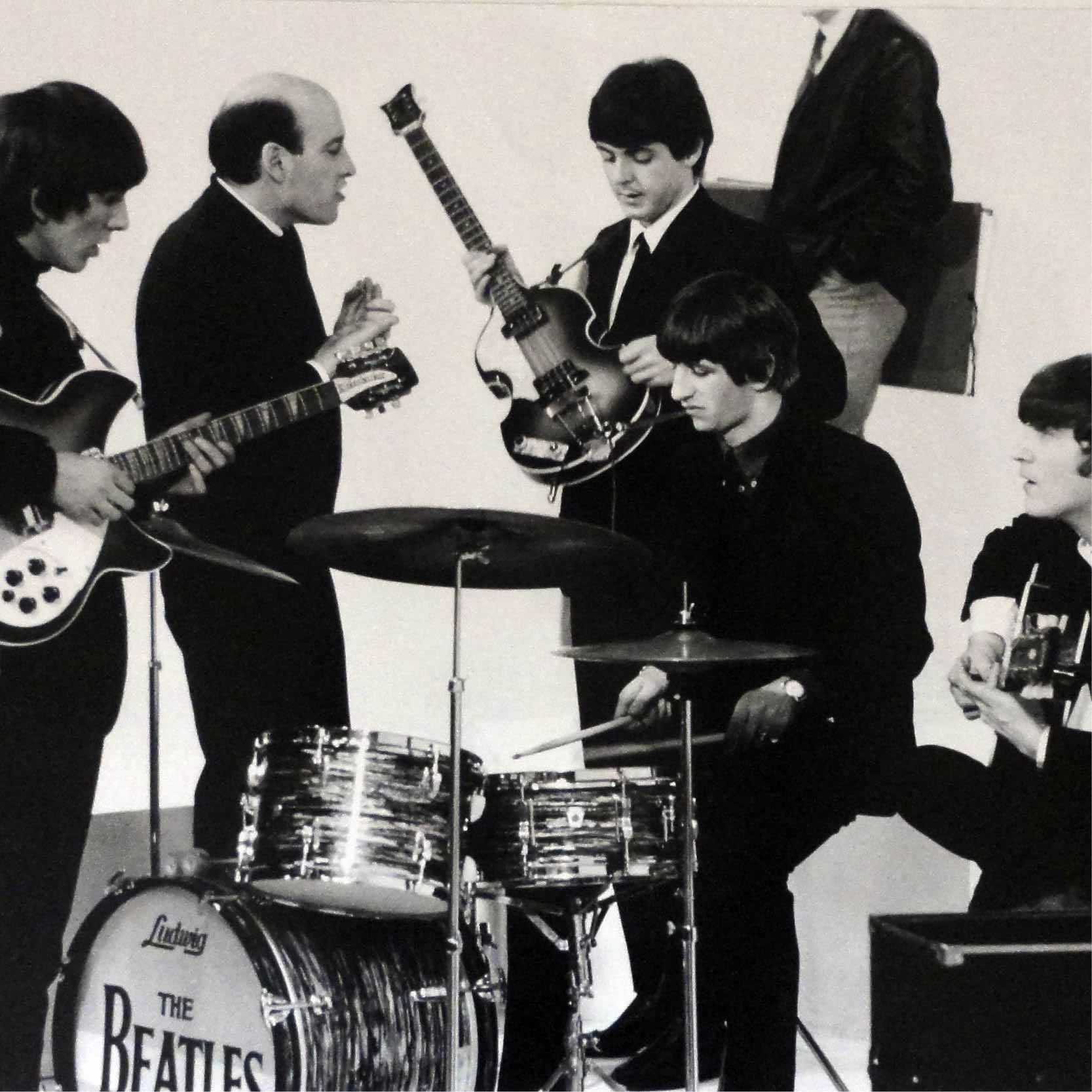 the beatles in the beginning traveling exhibition photography