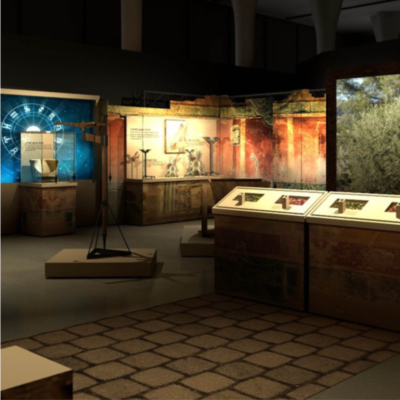 POMPEII traveling exhibition history cultural museum exhibit