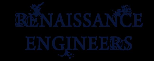 Renaissance engineers traveling exhibition history cultural museum exhibit logo