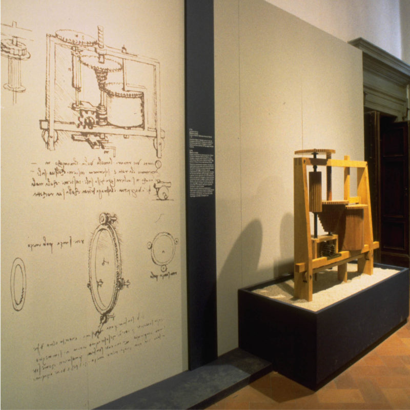 Renaissance engineers traveling exhibition history cultural museum exhibit