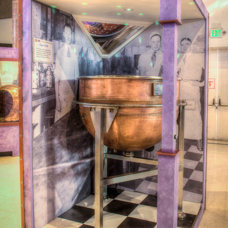 Sweets Candy traveling exhibition history pop culture cultural museum exhibit
