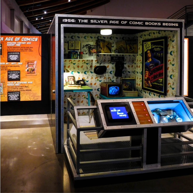hall of heroes tour traveling exhibition museum pop culture